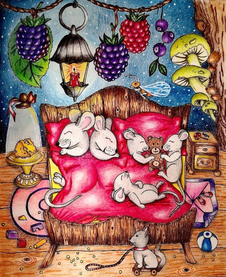 Картинка карандашом спокойной ночи