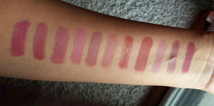 """90s Lipsticks! The """"Kylie Jenner"""" Lip. Drugstore and high end swatches!  Marsala #bronzedsouthernbeauty #90s"""