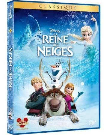 Disney - DVD la Reine des Neiges