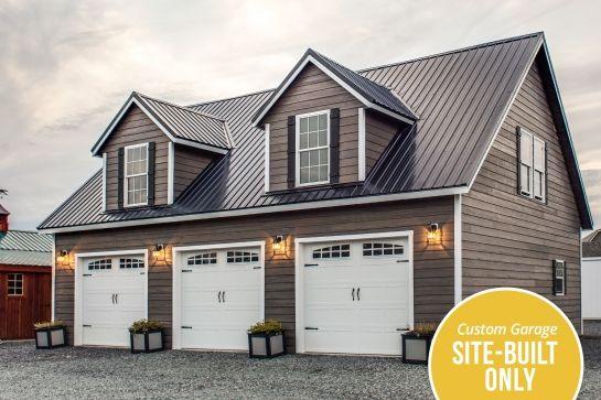 Prefab Garages & Modular Garage Builder | Woodtex