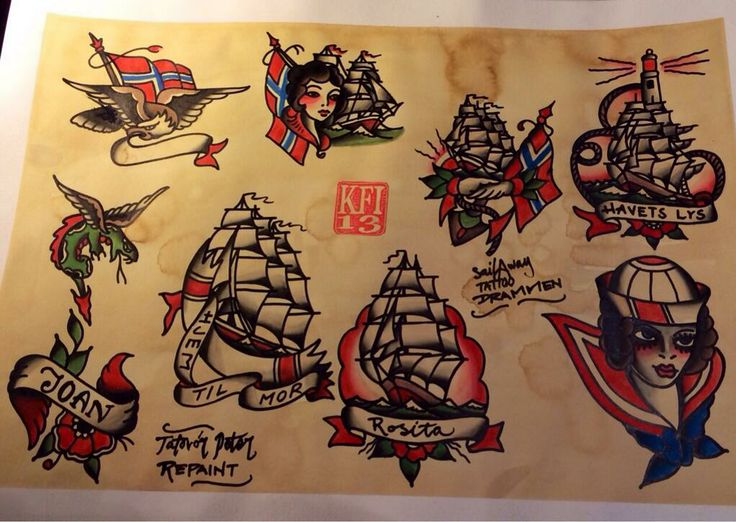 #Tattooflash #flash #sailawaytattoo #repaint