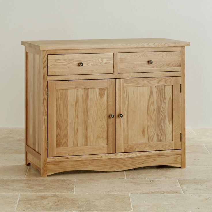 Cairo Solid Oak Small Sideboard from the Cairo Solid Oak range by Oak Furniture Land