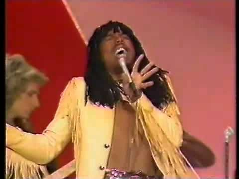 """""""Super Freak"""" - Rick James.  An upbeat funk groover that can be enjoyed guests of all ages.  Mix it with MC Hammer's """"U Can't Touch This."""""""