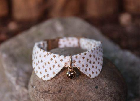 El estilo básico para collar gato pequeño collar para por HMbyZoey