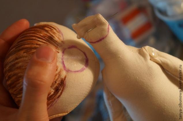 Creación de una muñeca textil Lorochki. Parte 2 - Masters - Feria artesanal, hecho a mano