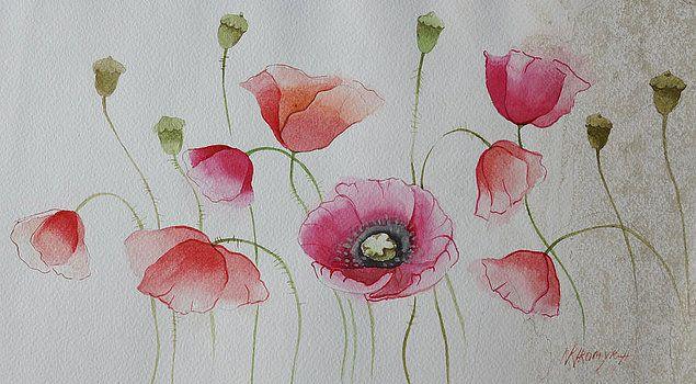Khromykh Natalia - poppies