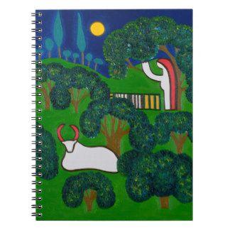 Printemps en Burgundy 2013 Spiral Note Book
