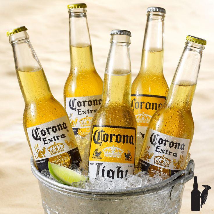 Cerveza Corona // Precio $95 (Botella) $2.070 (Caja de 24)