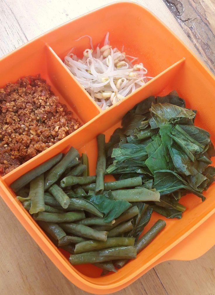 this is pecel #javanesefood #indonesianfood