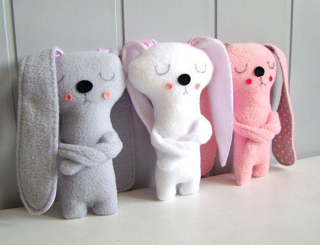 Przytulanka królik foch - Ifffka - Zabawki dla dzieci