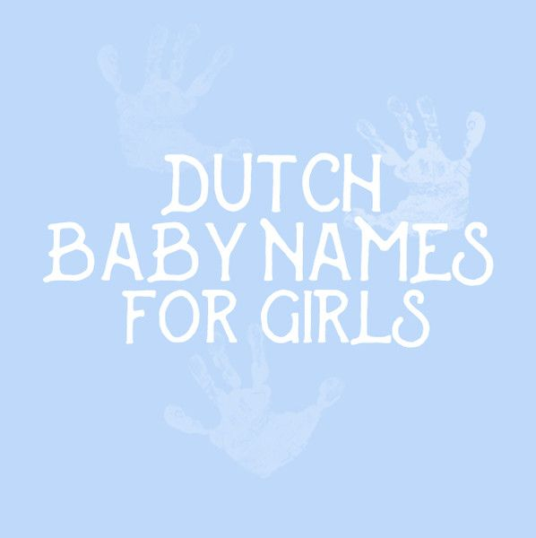how to say name in dutch