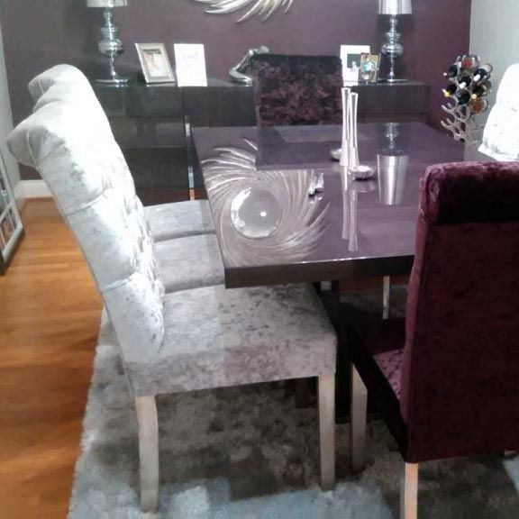 Purple Velvet Dining Chairs Purple Dining Velvet Dining Room Chairs Dining Room Small Luxury Dining Chair