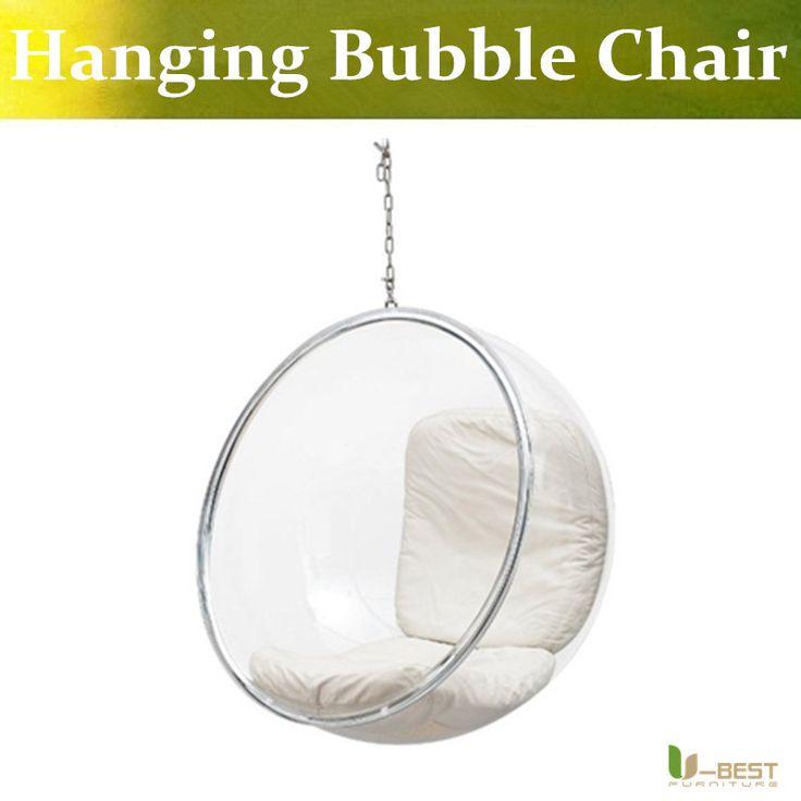 U-BEST kids lofty bedroom hanging bubble chairs,cheap hanging bubble chair for bedrooms,Swing bubble chair