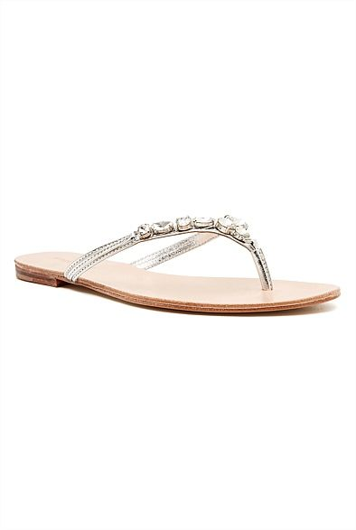tropical summer jeweled flats at witchery #witcherywishlist