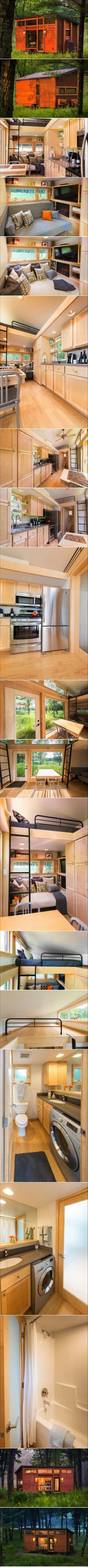 Not really a container but this is the only tiny house that actually looks workable