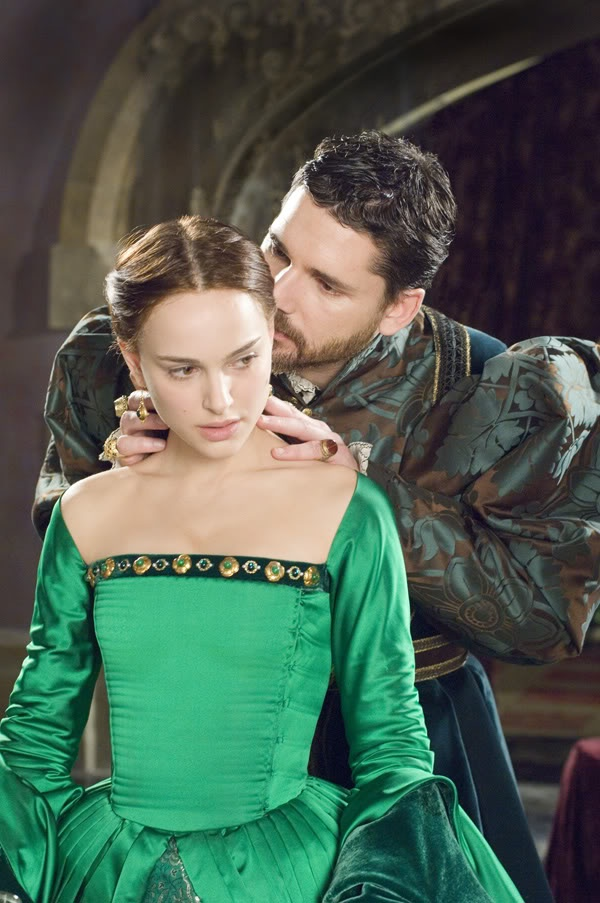 The Other Boleyn Girl . Natalie Portman and Eric Bana