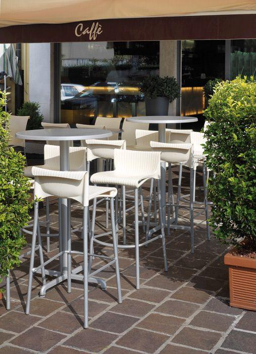 Stool Duca #cafeideas #nardi #outdoorfurniture #italianfurniture