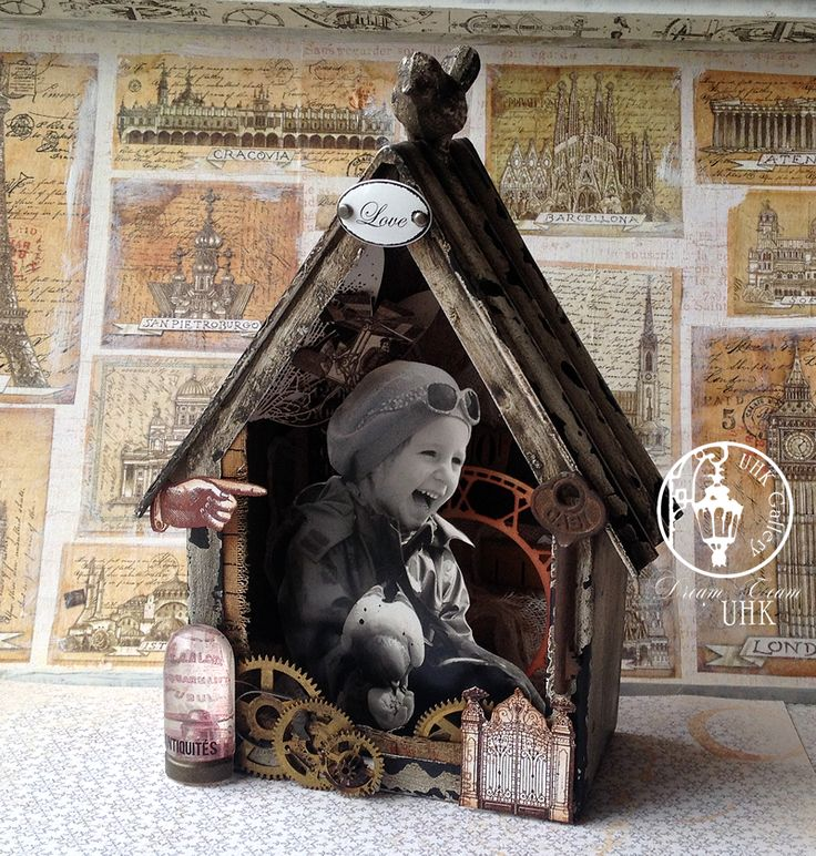 UHK Gallery - inspiracje: Prezent dla... córki - shadow box ze zdjęciem