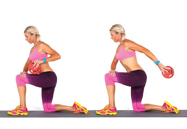 Tricep kick back - 13 moves for toned arms - PICTURE - Women's Health & Fitness