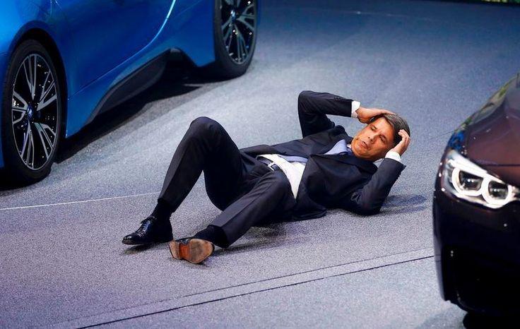 Salone di Francoforte il Ceo di BMW accusa un malessere