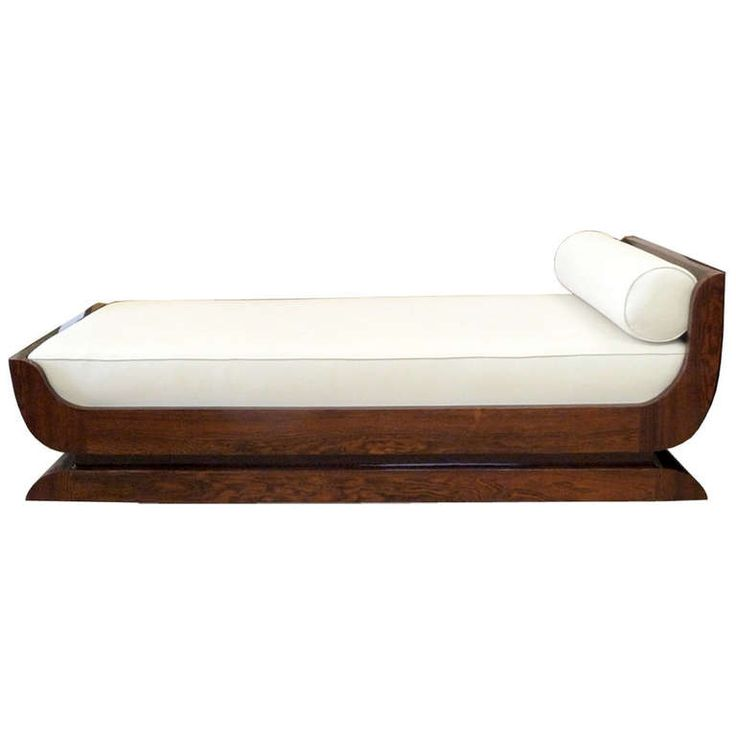 Very Beautiful French Art Deco Daybed, 1930's | From a unique collection of antique and modern day beds at http://www.1stdibs.com/furniture/seating/day-beds/