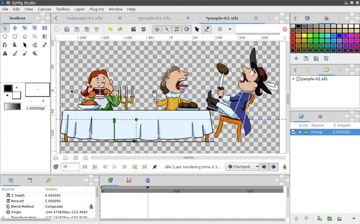 """SYNFIG STUDIO open-source 2D animation software. As you probably know, animation is the rapid display of a sequence of images in order to create an illusion of movement. Traditionally 2D animation is created by drawing each displayed image individually. Those images are called """"frames"""" and thus such method called """"frame-by-frame animation"""". To create good illusion …"""