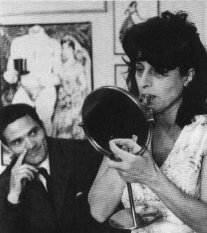 Pier Paolo Pasolini & Anna Magnani by kerry