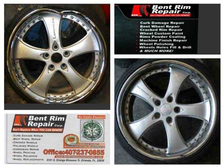Pin by grelis on Bent Rim Repair, corp Rim repair, Wheel