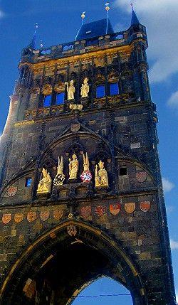 The Supernatural Power of Prague's Charles Bridge! See more: http://www.gypsynester.com/cb.htm