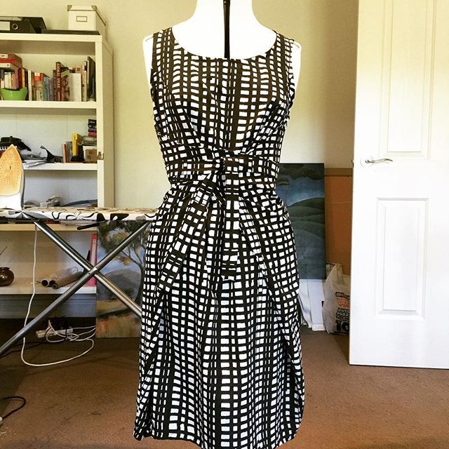 Kielo dress no.2 finally finished. Work wardrobe looking a little better now…