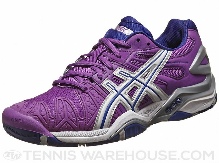Asics Gel Resolution 5 Purple/White Women's Shoes