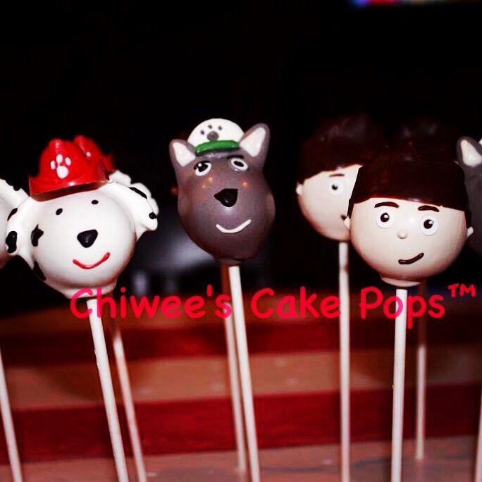 Paw patrol cake pops | Cake Pops | Pinterest | Cake pop ...