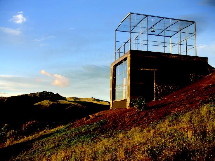 Greenhouse Atelier, Machachi, Ecuador 2006 © Pascual Gangotena