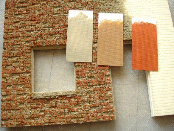 Miniatures Spray Painting Cork