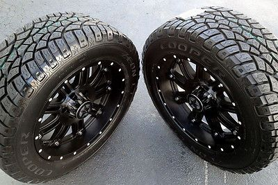 "20""  Black Wheels & Tires Dodge Truck Ram 1500 20x9 Lonestar 20 inch Rims"