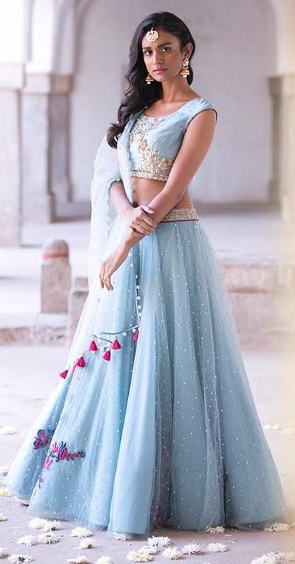Beautiful Lehenga Choli, from 'The Best Wedding Stores Of Shahpur Jat With Prices.'  by Namrata Nautiyal July, 2017 @frugal2fab #Frugal2Fab Wedding Shopping in Delhi, Indian fashion Shopping in South Delhi via @sunjayjk