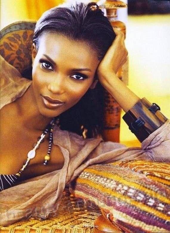 Agbani Darego африканская мисс Мира