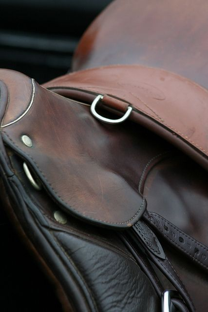 A well used saddle - always the most comfortable.