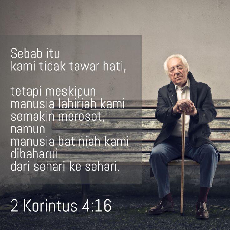 2 Korintus 4:16