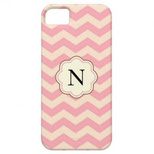 Pink Chevron iPhone 5 Covers