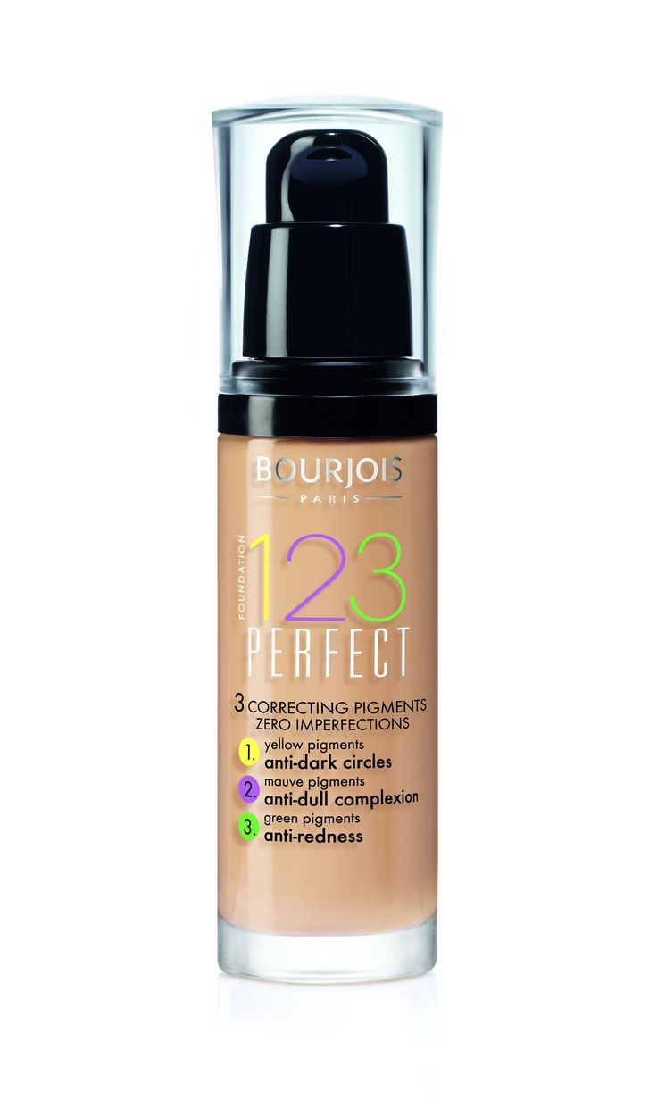 #BourjoisFrenchChic   123 Perfect foundation