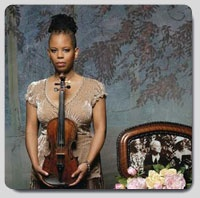 Regina Carter - 1st African American Woman to play priceless Paganini violin & native Detroiter