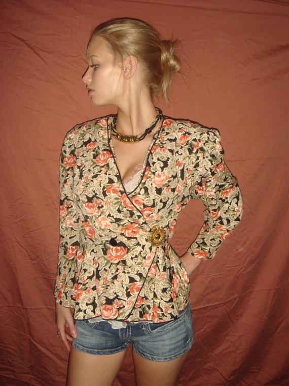 Blazer: Valentine'S Day, Soho Style, Valentines Day, Style Blazers 1970, Black Button