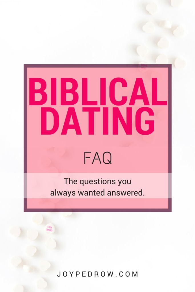 christian dating topics