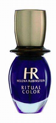 """Ritual Color violet ,Helena Rubinstein - Manucure - Vernis star de cet hiver, le Ritual Color Violet est ultra brillant et sèche en un clin d'œil ! Sa couleur intense est conçue à base de pigments et de nacres """"éclat"""". Notre avis : On adore ce violet..."""