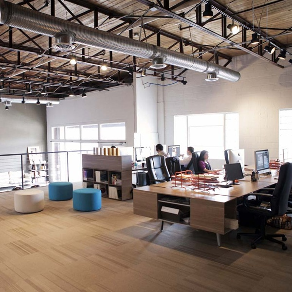 interesting office spaces. interesting cool office spaces branding has created a beautiful open loft space inside inspiration k