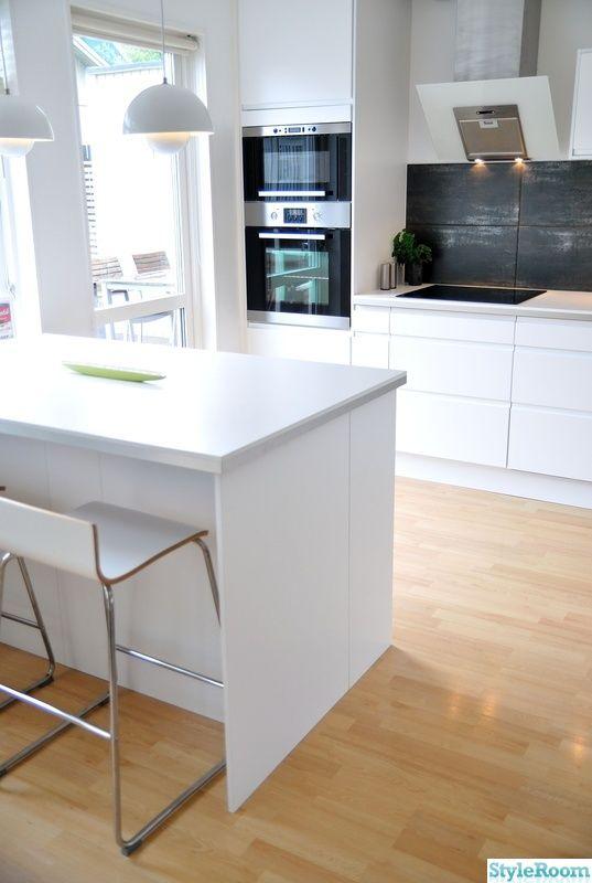 die 50 besten bilder zu ikea kitchens auf pinterest | grau, inseln ... - Grifflose Küche Ikea