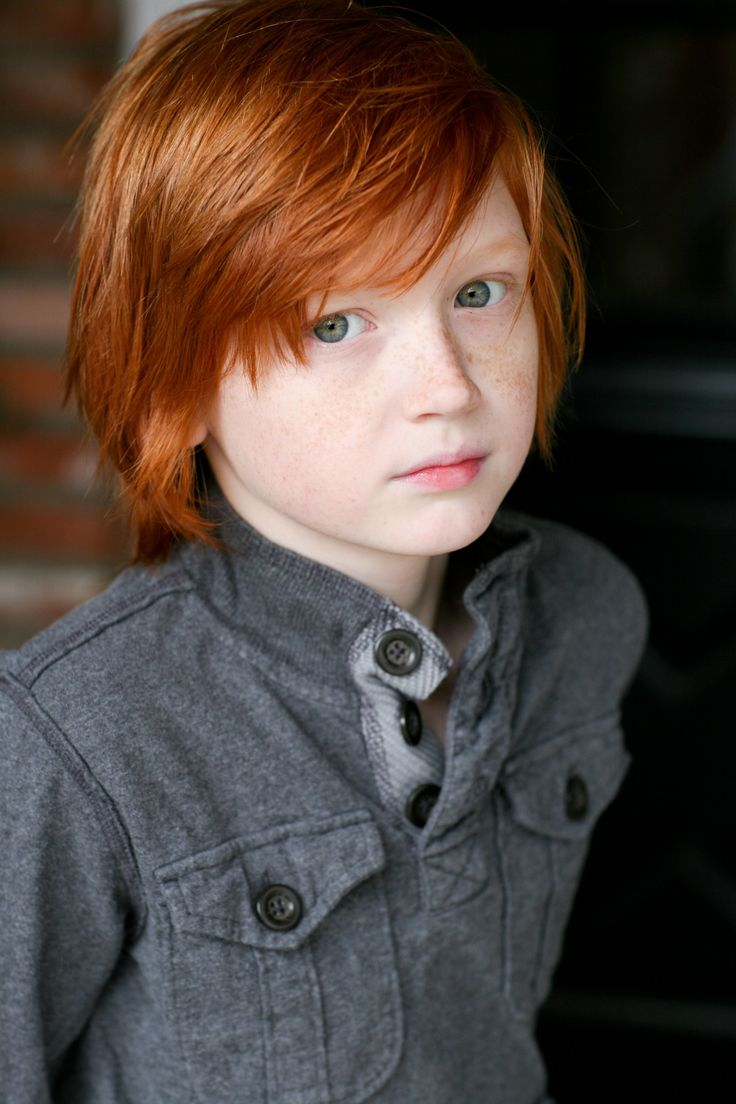 Boy haircuts 7 year old  best red for the win images on pinterest  redheads beautiful