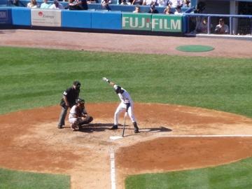 Legend Derek Jeter at Yankee Stadium, New York