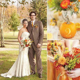 pretty pumpkin and sage